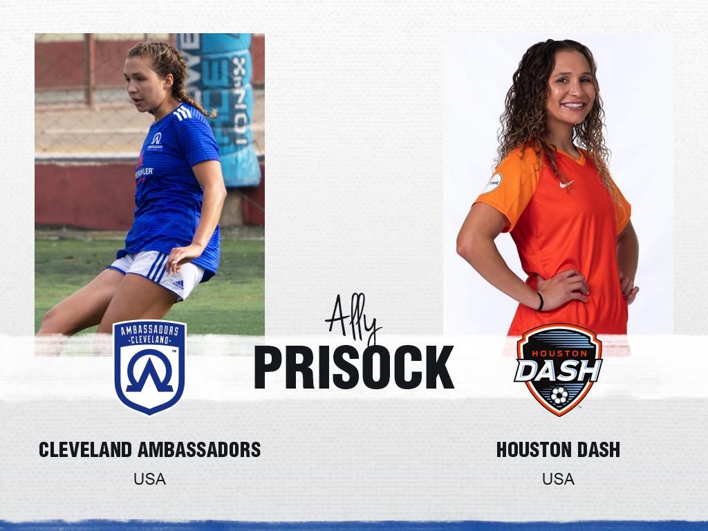 Ally Prisock - Cleveland Ambassadors