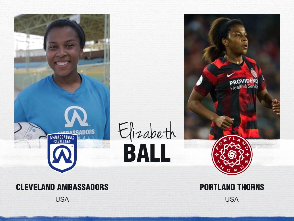 Elizabeth Ball - Cleveland Ambassadors