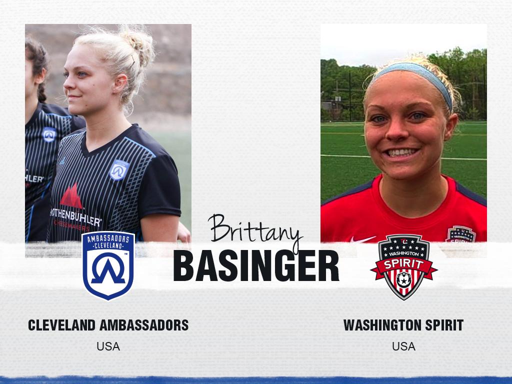 Brittany Basinger - Cleveland Ambassadors