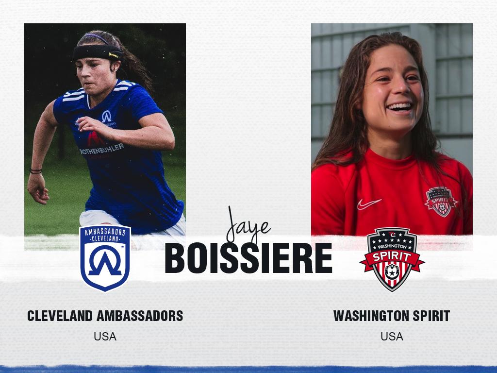 Jaye Boissiere - Cleveland Ambassadors