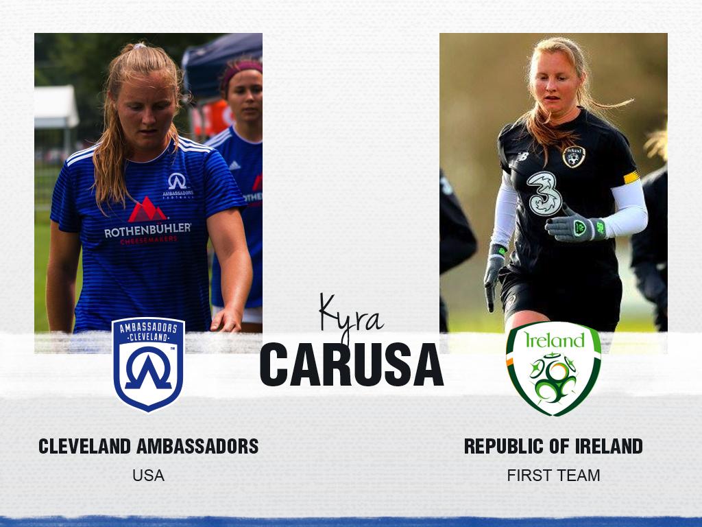 Kyra Carusa - Cleveland Ambassadors