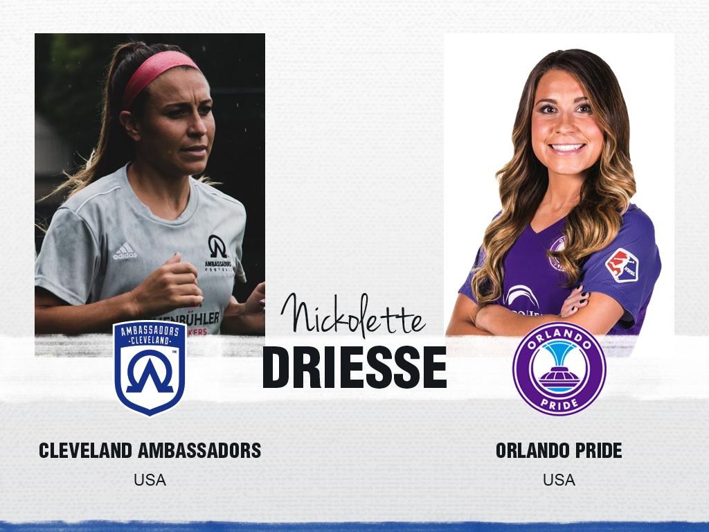 Nickolette Driesse - Cleveland Ambassadors