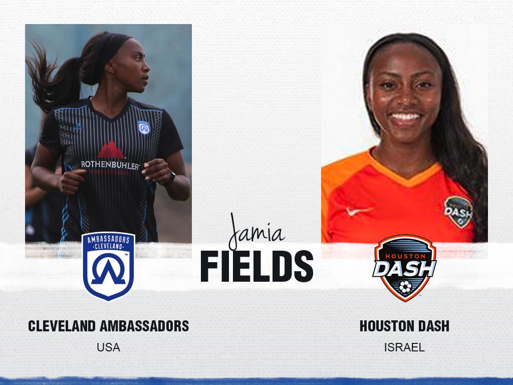 Jamia Fields - Cleveland Ambassadors