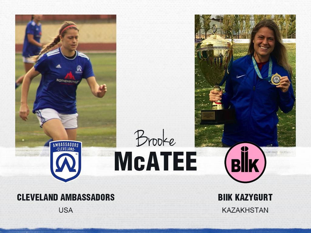 Brooke McAtee - Cleveland Ambassadors