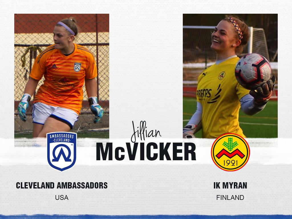 Jillian McVicker - Cleveland Ambassadors
