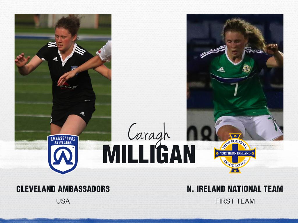 Caragh Milligan - Cleveland Ambassadors