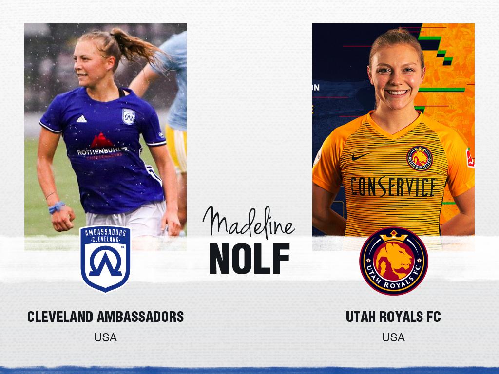Madeline Nolf - Cleveland Ambassadors