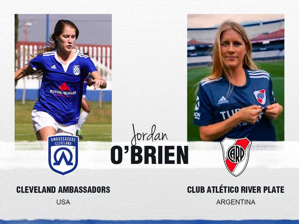 Jordan O'Brien - Cleveland Ambassadors