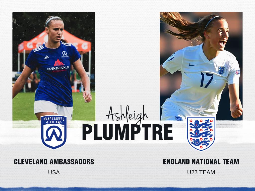 Ashleigh Plumptre - Cleveland Ambassadors