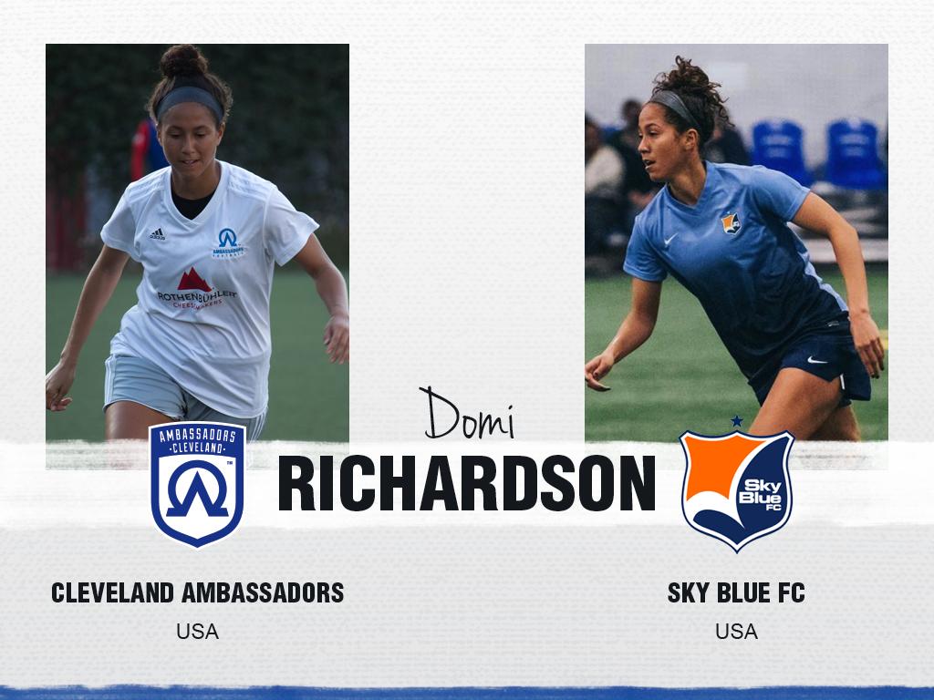 Domi Richardson - Cleveland Ambassadors