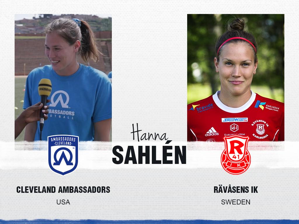 Hanna Sahlen - Cleveland Ambassadors