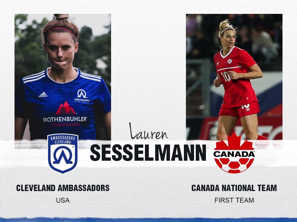 Lauren Sesselmann - Cleveland Ambassadors