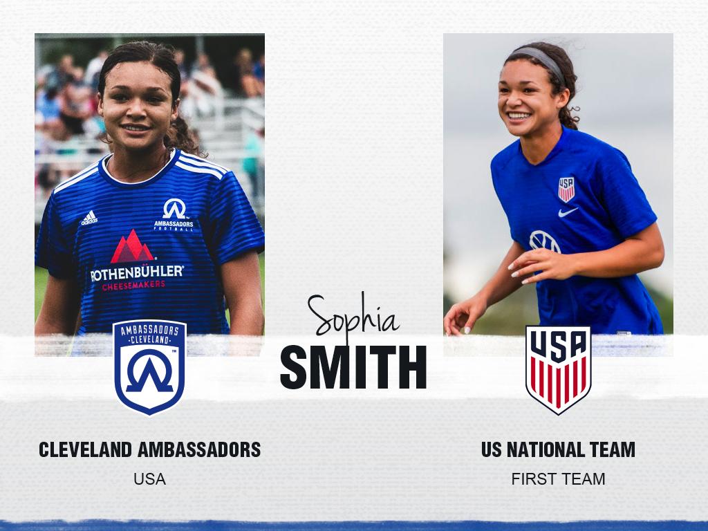 Sophia Smith - Cleveland Ambassadors
